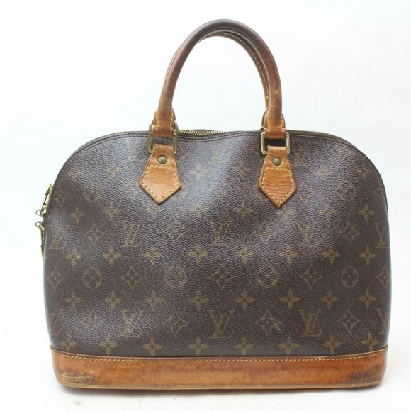 Louis Vuitton Handbags - Auth Louis Vuitton Alma Bag #1065L17